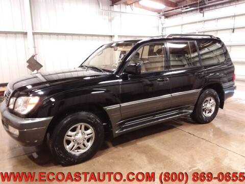 2002 Lexus LX 470 for sale at East Coast Auto Source Inc. in Bedford VA