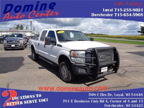 2013 Ford F-350 Super Duty for sale at Domine Auto Center in Loyal WI