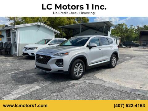 2020 Hyundai Santa Fe for sale at LC Motors 1 Inc. in Orlando FL