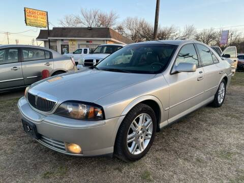 2003 Lincoln LS for sale at Texas Select Autos LLC in Mckinney TX