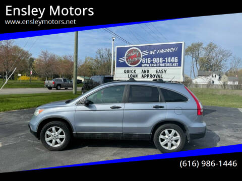 2008 Honda CR-V for sale at Ensley Motors in Allendale MI