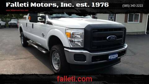 2015 Ford F-250 Super Duty for sale at Falleti Motors, Inc.  est. 1976 in Batavia NY