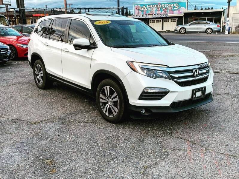 2016 Honda Pilot for sale at First Union Auto in Seattle WA
