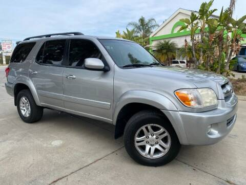 2006 Toyota Sequoia for sale at Luxury Auto Lounge in Costa Mesa CA