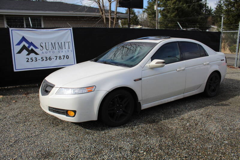 2007 Acura TL for sale at Summit Auto Sales in Puyallup WA