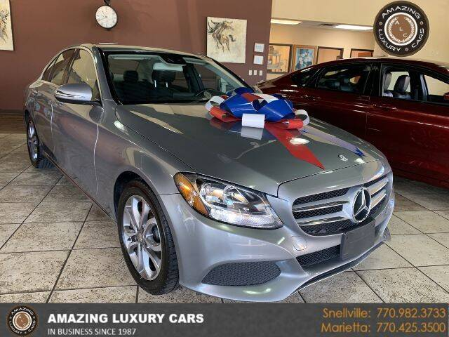 2016 Mercedes-Benz C-Class for sale at Amazing Luxury Cars in Snellville GA