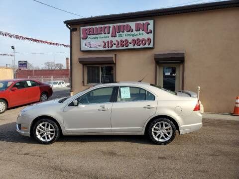 2010 Ford Fusion for sale at SELLECT AUTO INC in Philadelphia PA