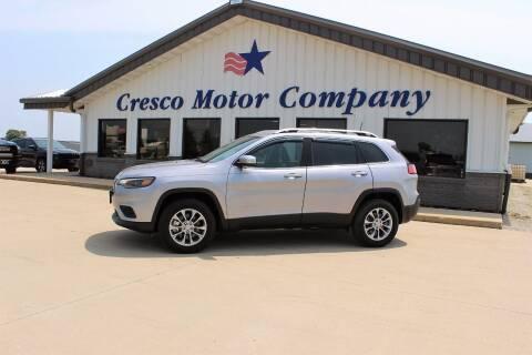 2019 Jeep Cherokee for sale at Cresco Motor Company in Cresco IA