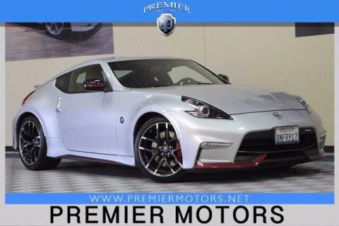 2015 Nissan 370Z for sale at Premier Motors in Hayward CA