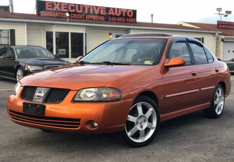 2006 Nissan Sentra for sale at Executive Auto in Winchester VA
