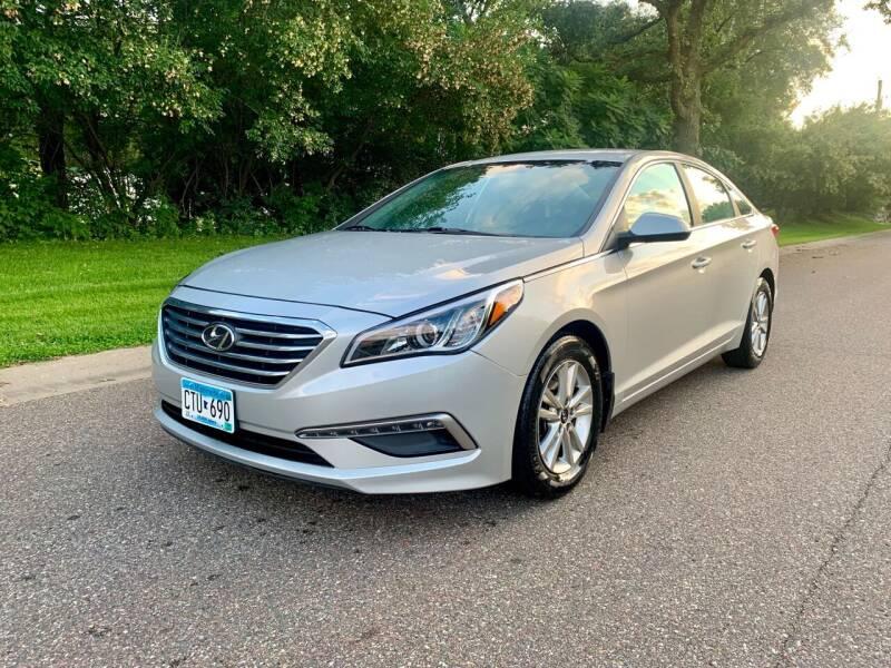 2015 Hyundai Sonata for sale at You Win Auto in Burnsville MN