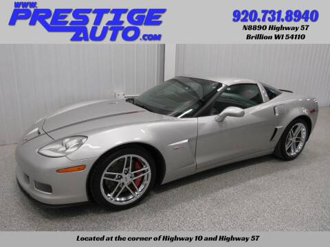2008 Chevrolet Corvette for sale at Prestige Auto Sales in Brillion WI