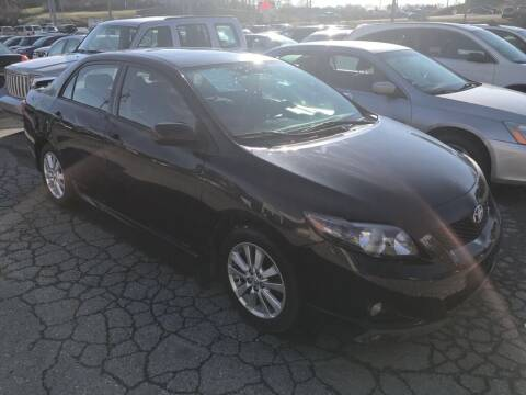 2009 Toyota Corolla for sale at Doug Dawson Motor Sales in Mount Sterling KY