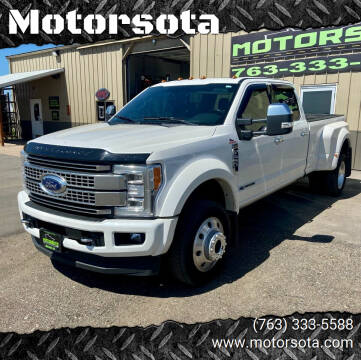 2019 Ford F-450 Super Duty for sale at Motorsota in Becker MN