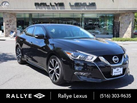 2018 Nissan Maxima for sale at RALLYE LEXUS in Glen Cove NY