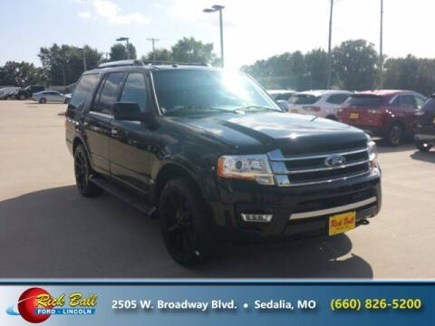 2016 Ford Expedition for sale at RICK BALL FORD in Sedalia MO