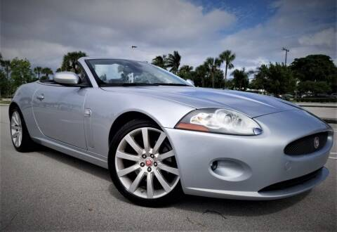 2007 Jaguar XK-Series for sale at Progressive Motors in Pompano Beach FL