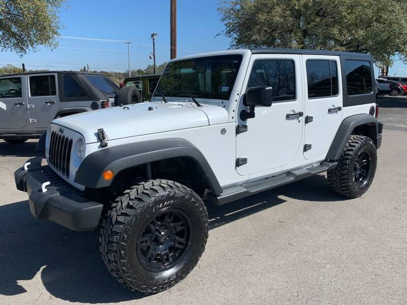2014 Jeep Wrangler Unlimited for sale at TROPHY MOTORS in New Braunfels TX