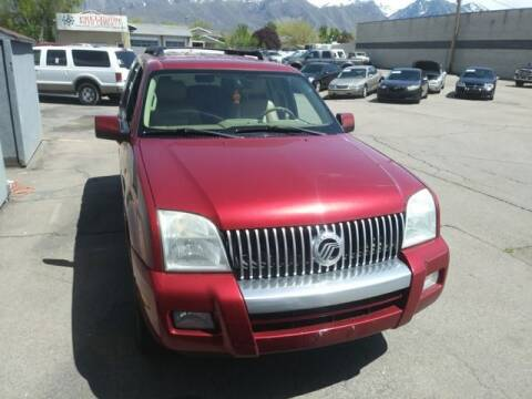 2007 Mercury Mountaineer for sale at Orem Auto Outlet in Orem UT