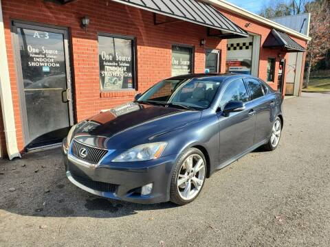 2009 Lexus IS 250 for sale at One Source Automotive Solutions in Braselton GA
