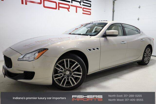 2015 Maserati Quattroporte for sale at Fishers Imports in Fishers IN