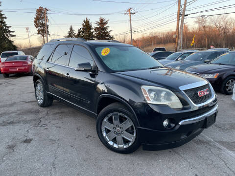 2010 GMC Acadia for sale at I57 Group Auto Sales in Country Club Hills IL