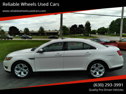 2011 Ford Taurus for sale at Reliable Wheels Used Cars in West Chicago IL