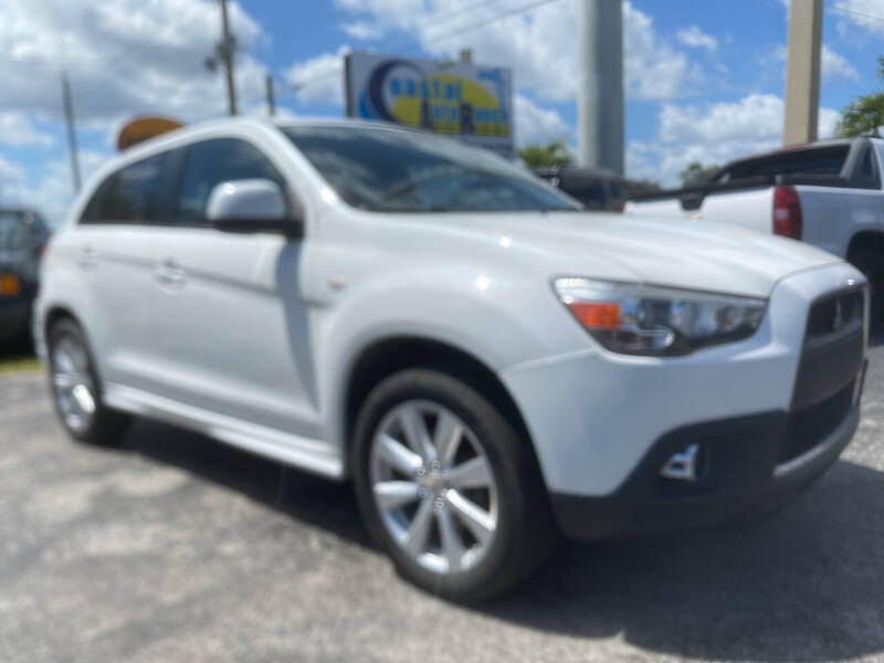 2012 Mitsubishi Outlander Sport for sale at Coastal Auto Ranch, Inc. in Port Saint Lucie FL
