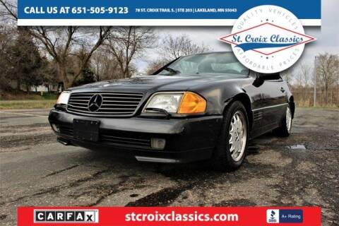 1994 Mercedes-Benz SL-Class for sale at St. Croix Classics in Lakeland MN