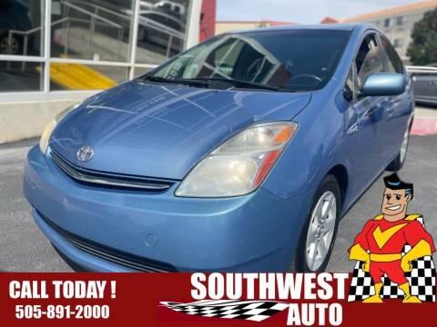 2007 Toyota Prius for sale at SOUTHWEST AUTO in Albuquerque NM