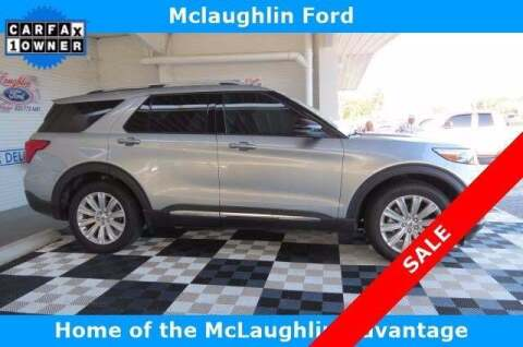 2020 Ford Explorer for sale at McLaughlin Ford in Sumter SC