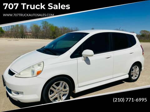 2007 Honda Fit for sale at 707 Truck Sales in San Antonio TX