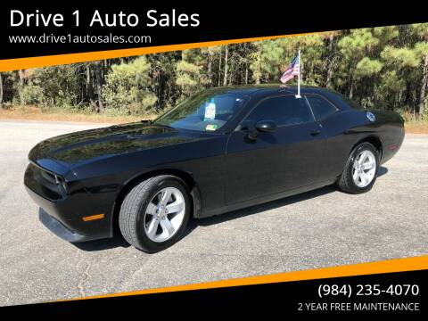 2014 Dodge Challenger for sale at Drive 1 Auto Sales in Wake Forest NC