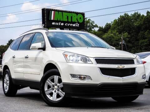 2012 Chevrolet Traverse for sale at Used Imports Auto - Metro Auto Credit in Smyrna GA