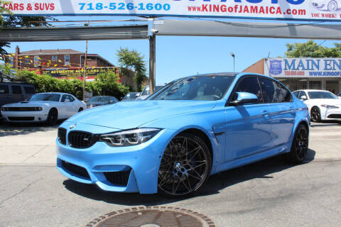 2018 BMW M3 for sale at MIKEY AUTO INC in Hollis NY