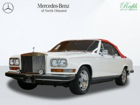 1980 Rolls-Royce Phantom Drophead Coupe for sale at Mercedes-Benz of North Olmsted in North Olmstead OH