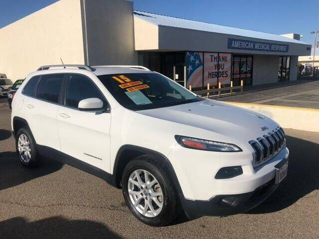 2015 Jeep Cherokee for sale at Miracle Motor Cars Inc. in Victorville CA