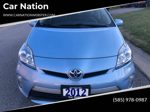 2012 Toyota Prius Plug-in Hybrid for sale at Car Nation in Webster NY
