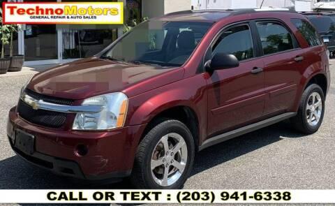2007 Chevrolet Equinox for sale at Techno Motors in Danbury CT