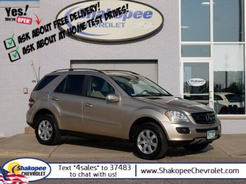 2006 Mercedes-Benz M-Class for sale at SHAKOPEE CHEVROLET in Shakopee MN