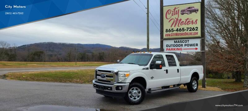 2014 Ford F-350 Super Duty for sale at City Motors in Mascot TN