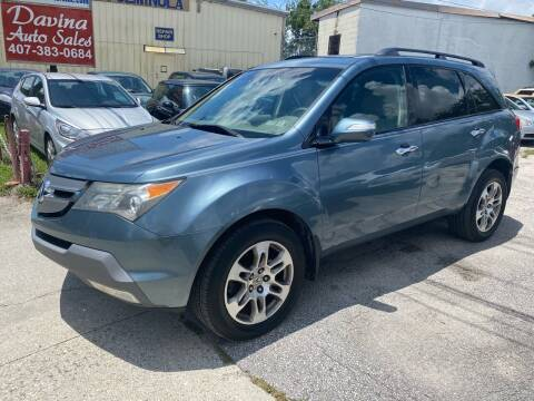 2008 Acura MDX for sale at DAVINA AUTO SALES in Orlando FL