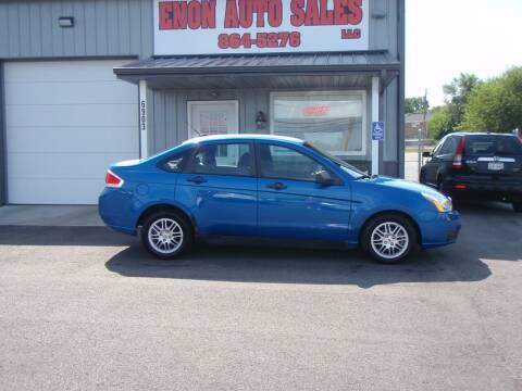 2010 Ford Focus for sale at ENON AUTO SALES in Enon OH