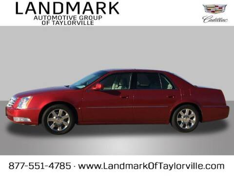 2006 Cadillac DTS for sale at LANDMARK OF TAYLORVILLE in Taylorville IL