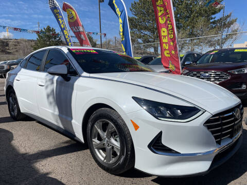 2021 Hyundai Sonata for sale at Duke City Auto LLC in Gallup NM