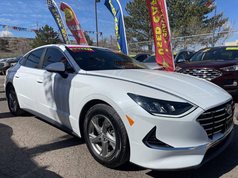 2021 Hyundai Sonata for sale at Duke City Auto LLC in Gallup NM