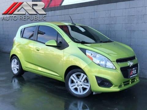 2014 Chevrolet Spark for sale at Auto Republic Fullerton in Fullerton CA
