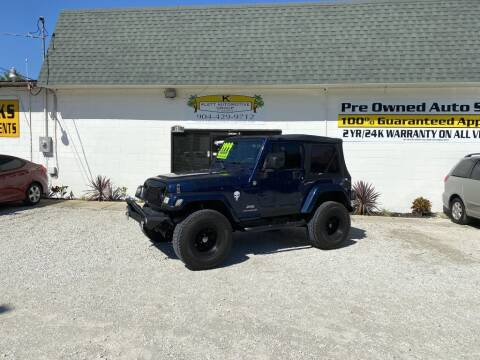 2005 Jeep Wrangler for sale at Klett Automotive Group in Saint Augustine FL