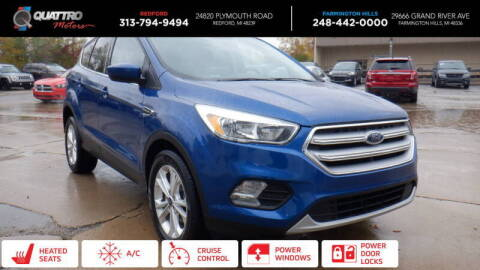 2018 Ford Escape for sale at Quattro Motors 2 - 1 in Redford MI