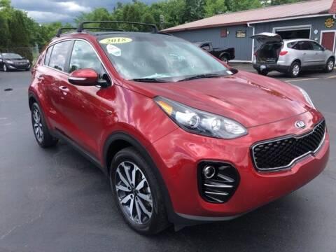 2018 Kia Sportage for sale at Newcombs Auto Sales in Auburn Hills MI
